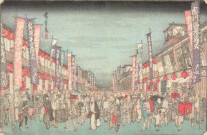 Hiroshige woodcut