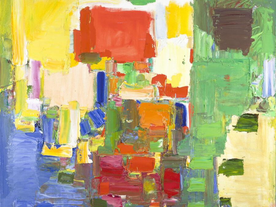 August Light by Hans Hofmann