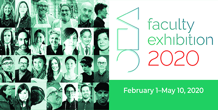 Faculty Exhibition -- photos of the artists