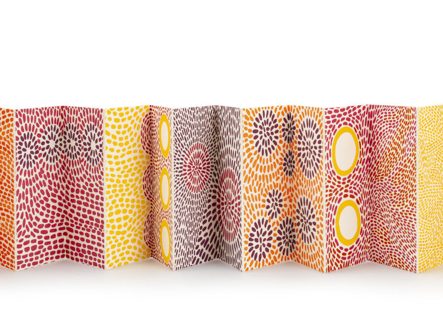 Speaking of Book Arts featured image accordion book