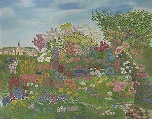 Flowering Garden painting