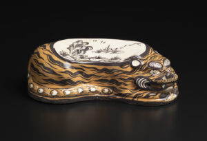 Cizhou Ware Tiger Pillow by Unknown