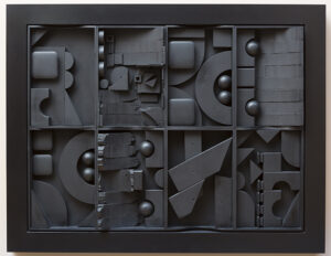 Black Light I artwork by Louise Nevelson