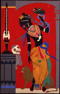 Circe by Romare Bearden