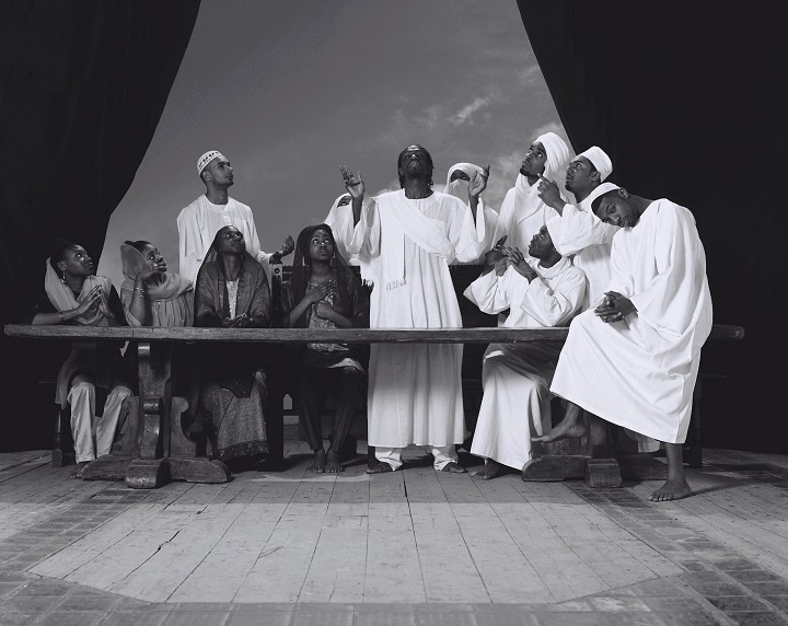 FAISAL ABDU'ALLAH AND KOFI ALLEN Last Supper I photograph