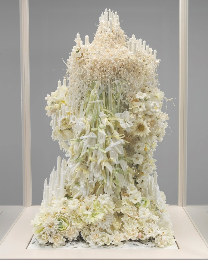 Petah Coyne Untitled #1378 wax sculpture
