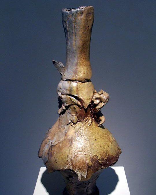 Teapot sculpture by Don Reitz