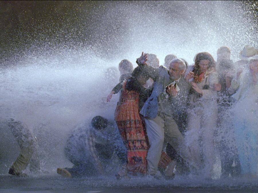 Video still from Bill Viola: The Raft