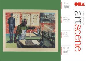 Cover of the 2019 summer artscene