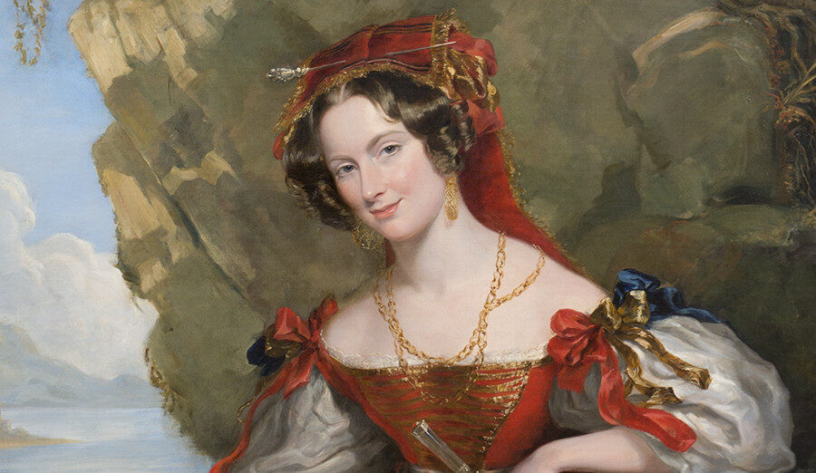 Lady Montagu painting detail
