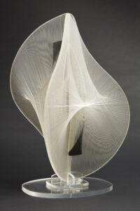white wire sculpture