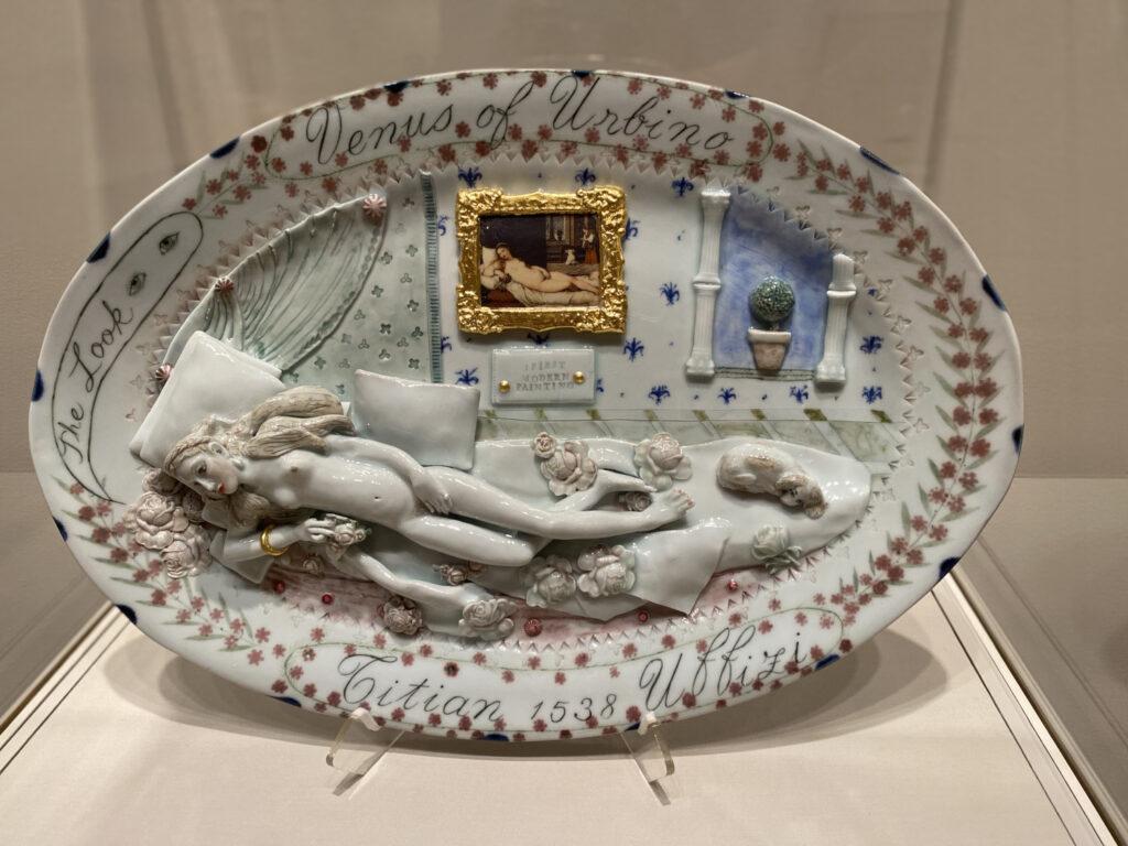 Venus of Urbino Revived sculpture by Mara Superior