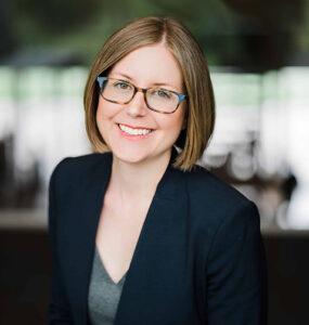 Chazen curator Katherine Alcauskas
