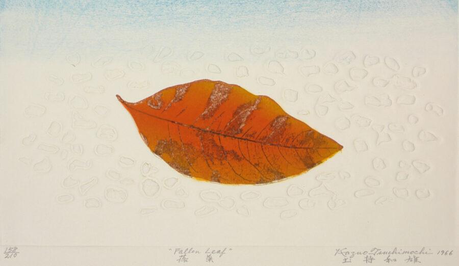 Fallen leaf painting