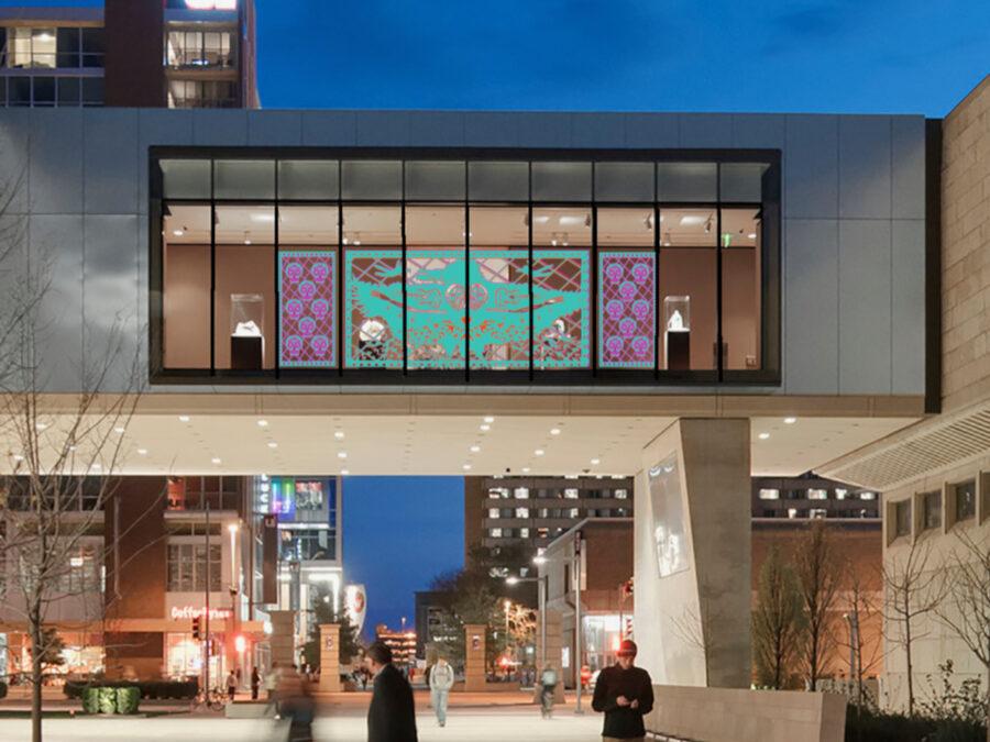 display in bridge gallery