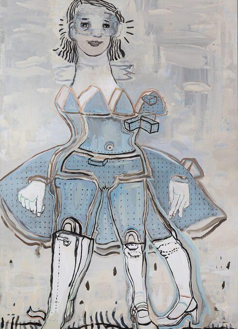 Thin Air painting by Hannah van Bart