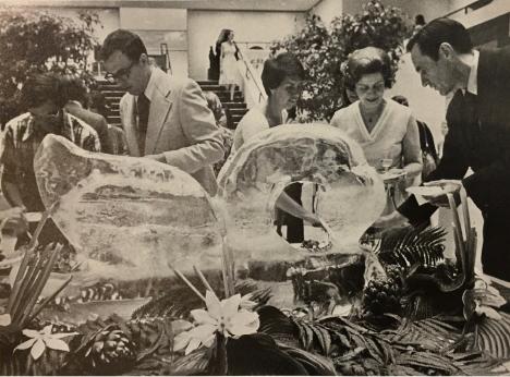 Opening night for the Elvehjem Art Center, Sept. 11, 1970